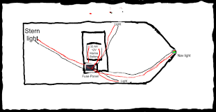 how to wire boat navigation lights diagram wiring diagram image For a Pontoon Boat Wiring Diagram for Lights and Switches lighting rinker boats beauteous boat navigation 12 jon boat light wiring diagram solutions 16
