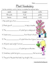plant vocabulary worksheet education world click here plant vocabulary worksheet sc3 5 pdf to the document