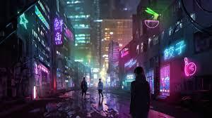 Neon city wallpaper 45638 baltana. Cyberpunk Wallpapers 83 Background Pictures