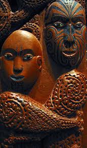 Resultado de imagen de máscaras maoríes