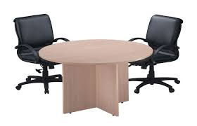 office furniture ideas medium size classic round conference tables with cross base cheyenne office modern large