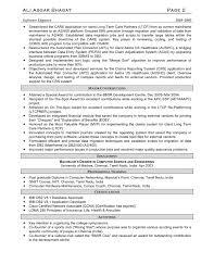 Software Developer Sample Resume Resume Samples