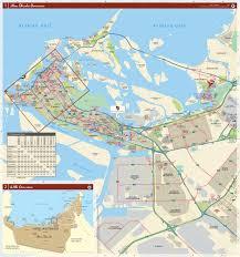 abu dhabi city map