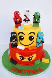 Niki's Cakes - Lego Ninjago birthday cake 🎂🎁💙