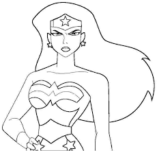 Color Wonder Coloring Book Or Wonder Woman Coloring Pages