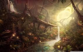 Fantastic Jungle Ultra HD Desktop ...
