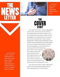 Word Templates For Newsletters Free Printable Newsletter Templates Email Newsletter Examples