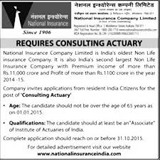 Actuary Job Description Gorgeous Government Job Consulting Actuary Kolkata Office