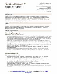 Digital Strategist Resume Marketing Strategist Resume Samples Qwikresume