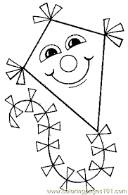 Small Picture Kite Coloring Page 08 Coloring Page Free Others Coloring Pages