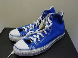 are converse true to size mens blue high tops