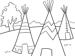 Small Picture Impressive Idea Native American Coloring Pages 11 Decoration
