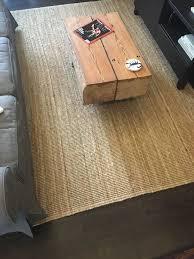 ikea lohals rug carpet flatwoven 160x230cm 100 jute natural