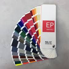 Ral K7 Colour Chart Ep Vernici Original Ral K7 Colourchart