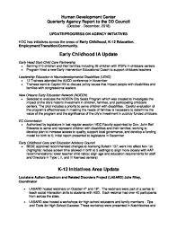 How To Develop A Birth Plan Hdc Report Louisiana Developmental Disabilities Council