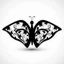 Butterfly Artistic Styles Vector Background Free Vector In