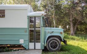 tiny house school bus. School Bus Thinks It\u0027s A Log Cabin, Has The Pipe Stove To Prove It Tiny House L