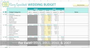 Samples Of Budget Spreadsheets 012 Template Ideaslanning Small Wedding On Tight Budget