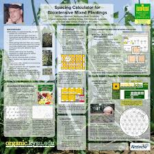Pdf A Spacing Calculator For Mixed Plantings