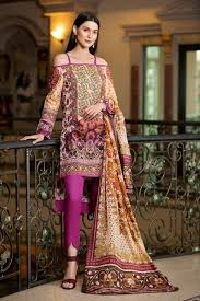 Fb Dress Design Gul Ahmed Summer 2019 Premium Lawn Collection 3 Pc Ss 164