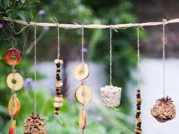 time bird feeder birds cute garden accessories