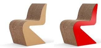 Design Modern Cardboard Furniture Modern Cardboard Furniture For