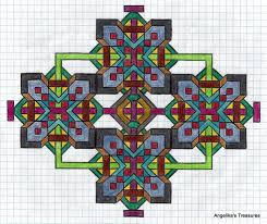 Graph Paper Art Patterns Beyin Brianstern Co