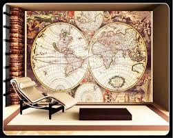 Beibehang 3d Behang Klassieke Nostalgische Wereld Zeilen