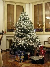 1001 Ideen Für Weihnachtsbaum Schmücken Weiß Und Silber