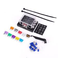 online get cheap universal car fuse box aliexpress com alibaba fast shipping 6 way blade fuse box block holder circuit for car automotive auto atc ato