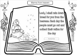 Small Picture Peaceful Design Ideas Manna Coloring Page 4 Manna From Heaven