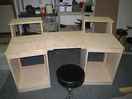 "... ""Sound Construction"" studio desk clone ..."