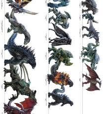 Kaiju Ultimate Size Chart Relatively Interesting