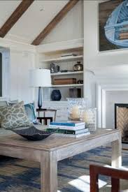 Wonderful Coastal Decor. The Living Room Embraces A Coastal Chic Motif, Inspired