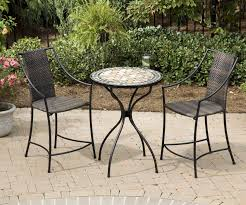 Pub Style Bistro Table Sets Bistro Patio Set Bar Height Traditional Outdoor Pub And Bistro