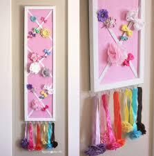 how to organize hair accessories storage solutions for bows and headbands