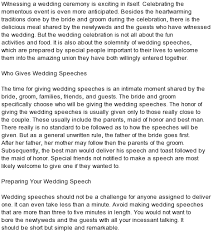 All Kind Of Best Wedding Speeches : Mc Sample Speech Wedding