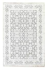 5x7 black rug black and white area rug unique living regal oriental gray silver area