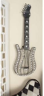 iron wire guitar wall sculpture art music metal hanging home living room decor on metal wire guitar wall art with iron wire guitar wall sculpture art music metal hanging home living