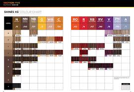 Paul Mitchell The Color Xg Chart Pin On Hair Cuts