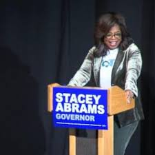 oprah winfrey caigns for democrat stacey abrams in georgia s governor s race