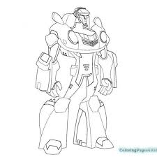 post rescue bot coloring pages