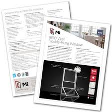 Technical Library Spec Sheets More Mi Windows And Doors