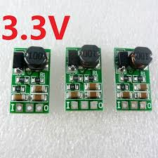 <b>3pcs</b> DC 5-24V to <b>3.3V</b> Step-Down Buck DC-DC Converte Power ...