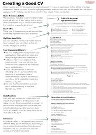 Excellent Cv Creating A Good Cv Hanover Recruitment