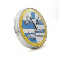 vespa vintage wall clock the girl that