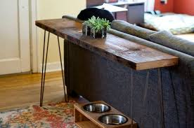 hairpin leg console table couch