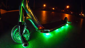 Green Light Up Razor Scooter Light Up Scooter