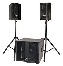 sound system. peavey triflex ii system sound o