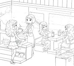 Lego Friends Coloring Book Ordinary T583 695 Lego Friends Printable